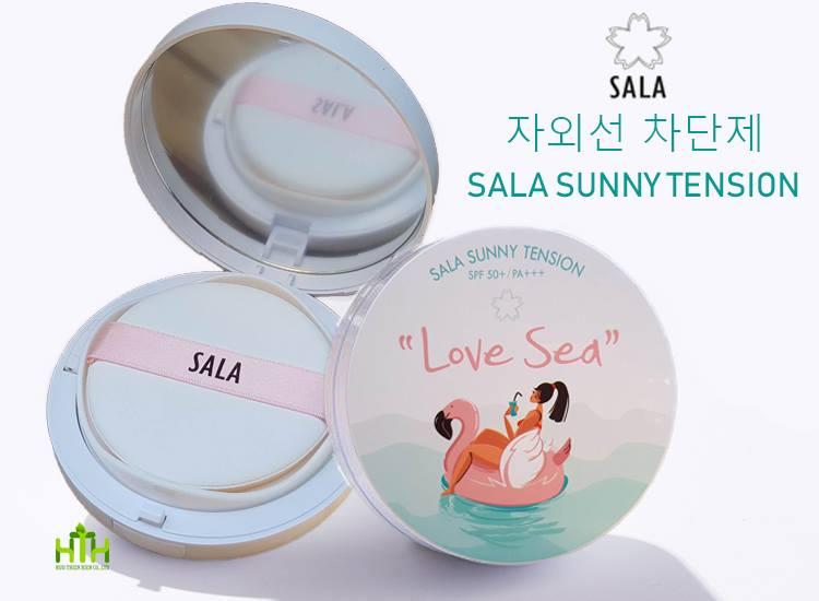 PHẤN TENSION LOVE SEA- PHẤN NƯỚC CHỐNG NẮNG SALA HÀN QUỐC
