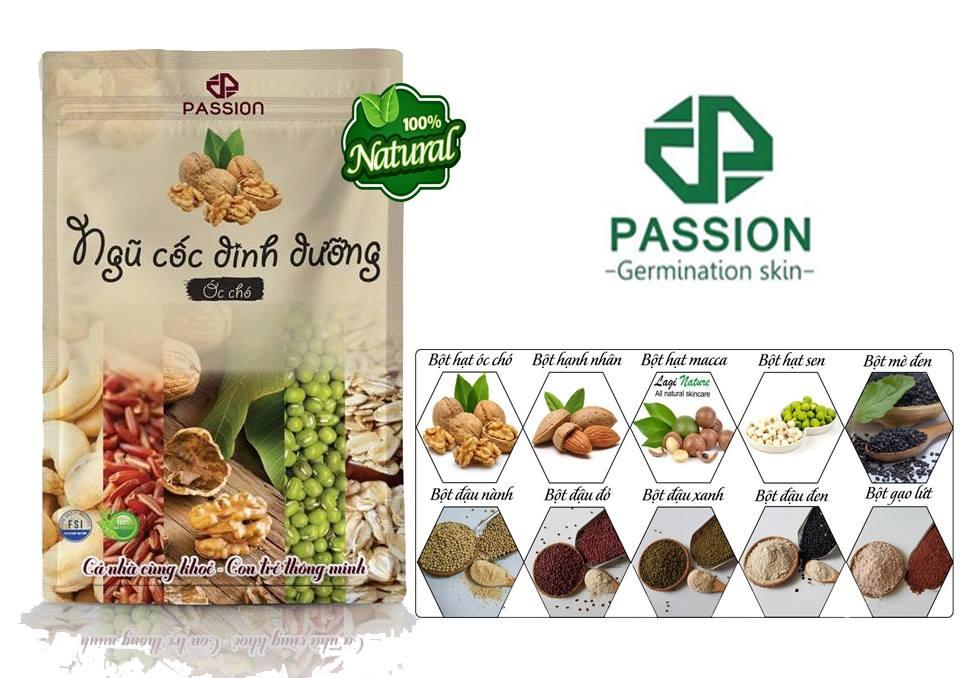Bột ngũ cốc óc cho passion