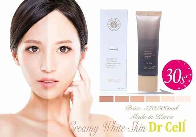 Kem Tươi Vedette Dr Cell Hàn Quốc- Dưỡng da chống nắng vượt trội