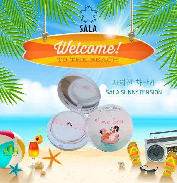 Mỹ phẩm Sala của Hàn Quốc đang dần khẳng định thị trường riêng.