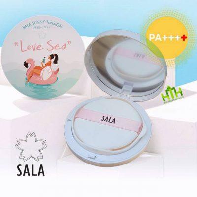Phấn chống nắng SALA thích hợp với du lịch dã ngoại.