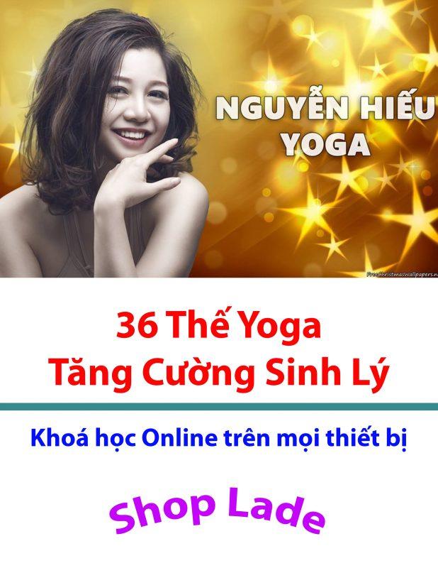 36 bài tập yoga tăng cường sinh lý