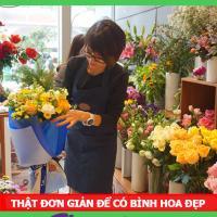 Học cách cắm hoa miễn phí bằng khoá học Online