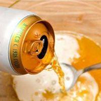 Làm trắng da mặt siêu tốc từ bia và trứng gà