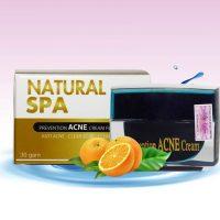 Kem trị thâm mụn Natural spa có tốt không?