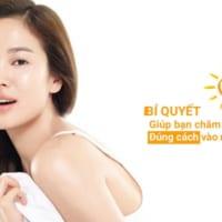 Cách giúp gương mặt sạch mụn trong ngày nóng bức