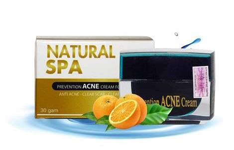 Kem đặc trị mụn Natural Spa