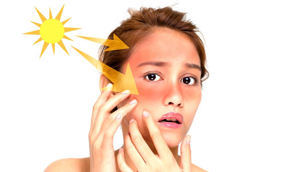 Sử dụng kem chống nắng cho da mặt