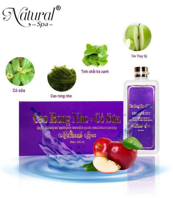 Serum trắng da body Natural Spa