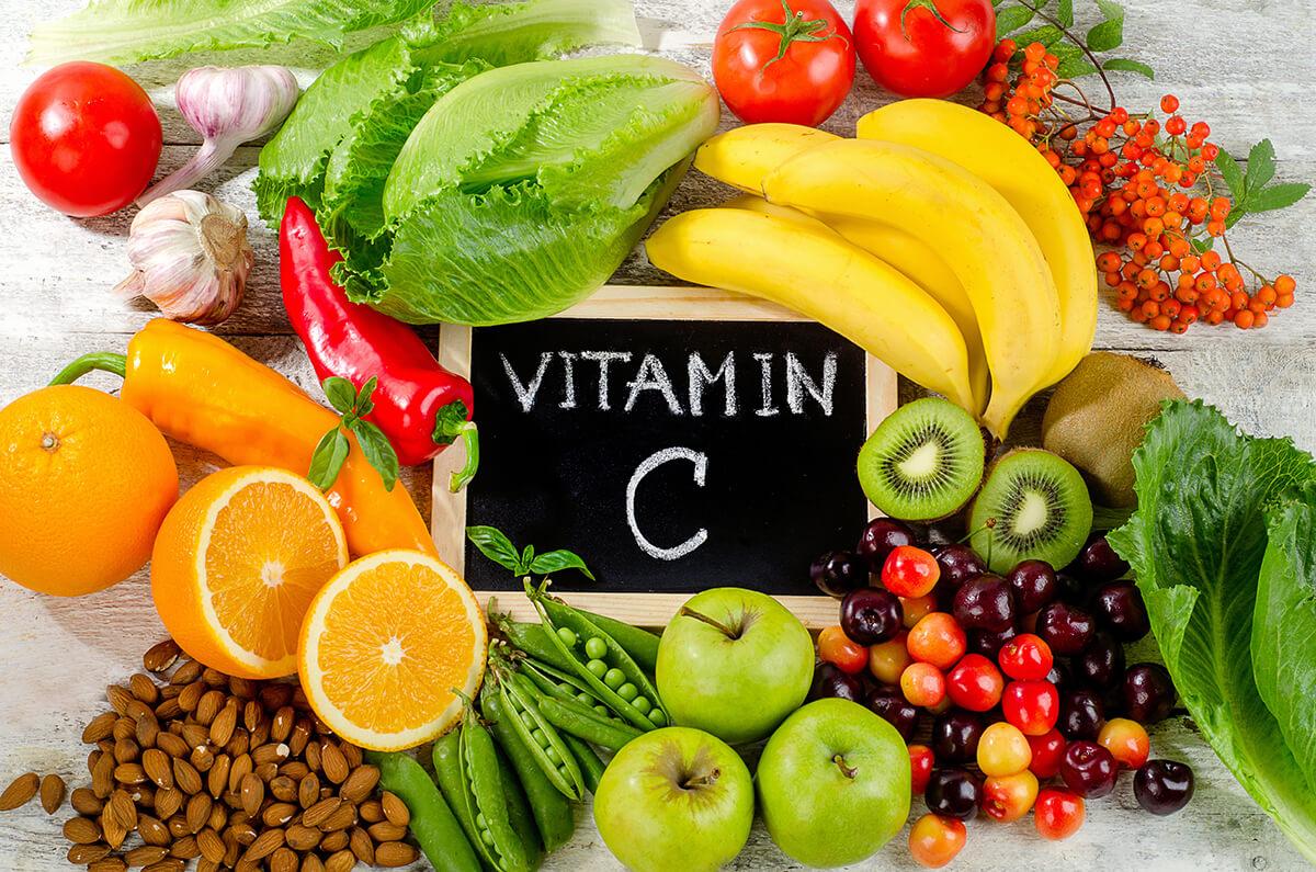 Rau quả chứa nhiều vitamin C