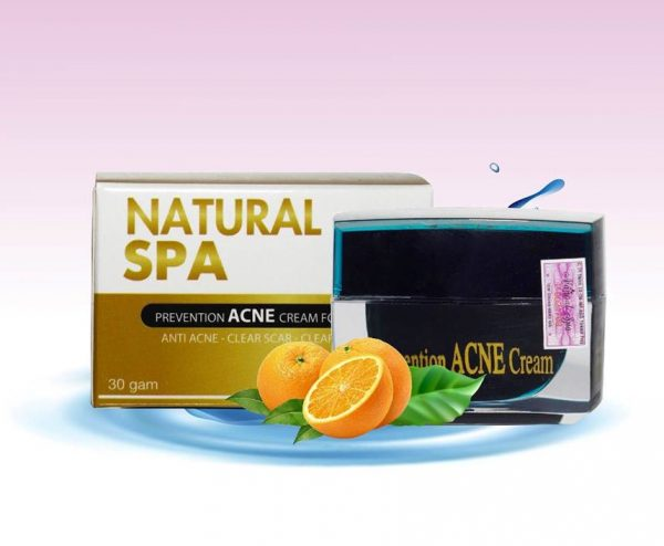 kem trị mụn Acnes Natural Spa