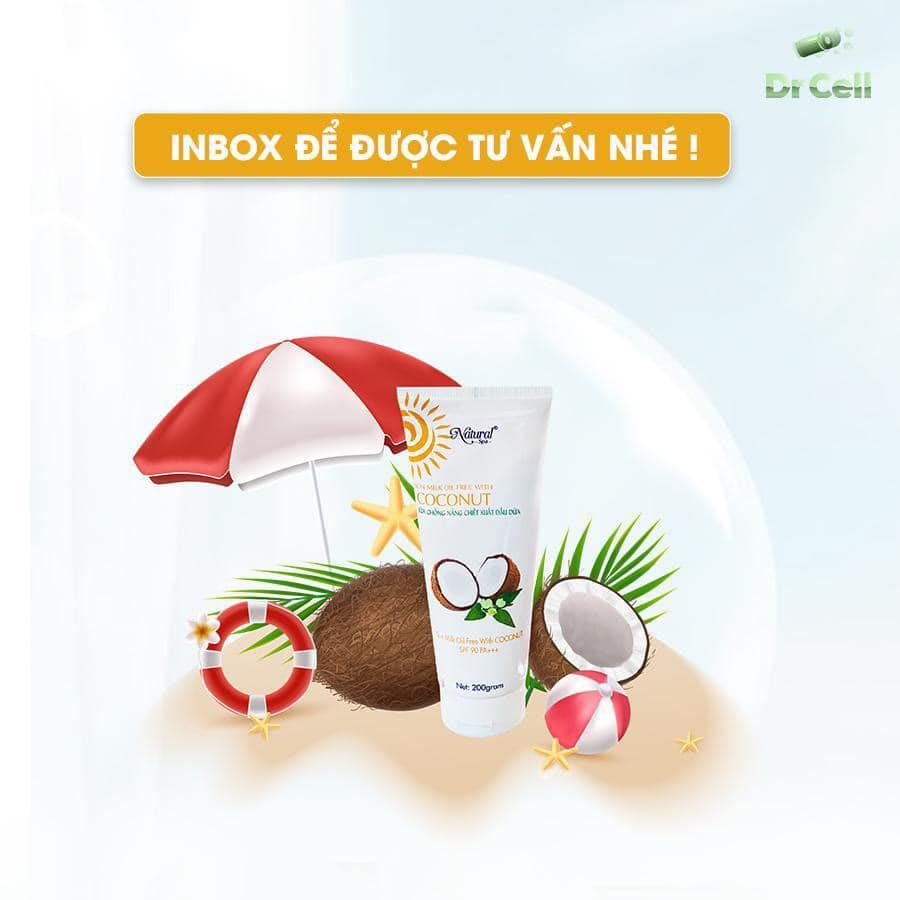 Kem body dừa Natural Spa sẽ đem đến cho bạn một trải nghiệm hoàn toàn mới, an toàn và hiệu quả.