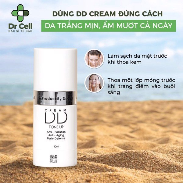 Ưu điểm vượt trội của DD Cream Dr Cell